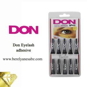 چسب مژه دان یک گرمی مشکی بسته 10 تایی Don Eyelash