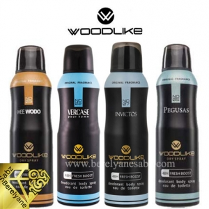 اسپری بدن های مردانه وودلایک Woodlike Body Spray For Men