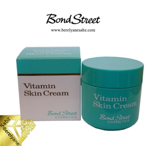 کرم باند استریت ویتامینه شب Bond Street Vitamin Skin Cream